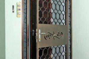 Решетчатые двери: виды и особенности