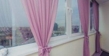Какие шторы выбрать на лоджию?