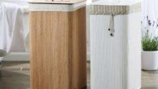 Корзина для белья: выбираем функциональный аксессуар в ванную или спальню