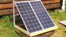 Характеристики солнечных панелей на 12 вольт