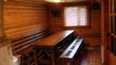 Столы из дерева для бани: критерии выбора