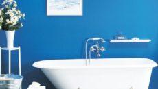 Краска для ванной комнаты: как выбрать оптимальный вариант?