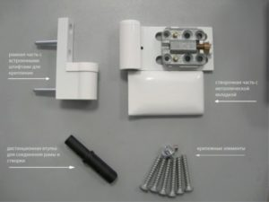 Выбираем и монтируем петли для пластиковых дверей