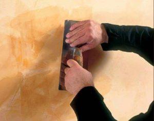 Воск для декоративной штукатурки: рецепты составов и особенности нанесения