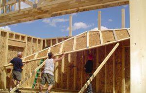 Тонкости процесса возведения каркасно-щитовых домов