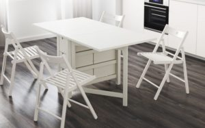 Складные столы Ikea: сочетание стиля и комфорта