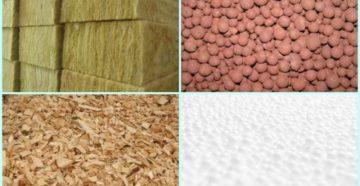 Разновидности сыпучих утеплителей для стен и потолка