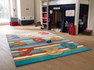 Ковры в детскую комнату для мальчиков: выбираем грамотно