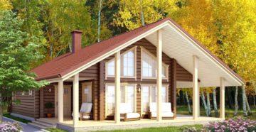 Проекты одноэтажных домов из бруса: оригинальные идеи для строительства