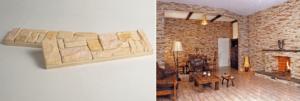 Особенности и изготовление имитации кирпича для внутренней отделки