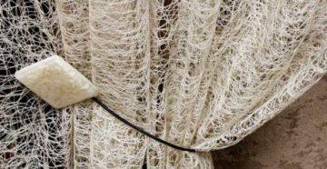 Тюль паутинка в интерьере