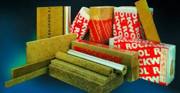 Использование минеральной ваты Rockwool