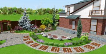 Обустройство дачного участка площадью 8 соток: красивый ландшафтный дизайн