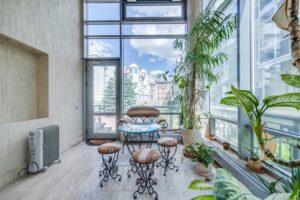 Зимний сад в квартире: условия и особенности обустройства