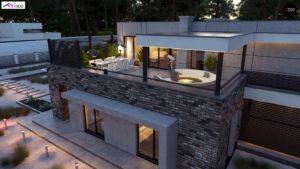 Проекты современных домов с плоской крышей: особенности выбора и обустройства кровли