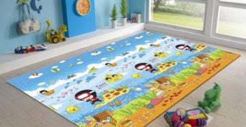 Выбираем детский коврик для ползания