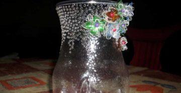 Как делать вазы из пластиковых бутылок своими руками?