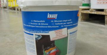 Тонкости использования гидроизоляции Knauf
