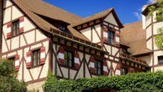 Дома в европейском стиле фахверк: преимущества и недостатки