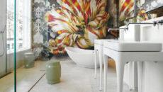 Мозаика на стену: современные дизайнерские решения