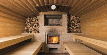 Печи для бани на дровах: плюсы и минусы