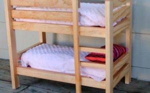 Как сделать двухъярусную кровать для детей своими руками?