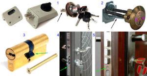 Замена замка на входной двери – пошаговая инструкция для разных типов механизмов