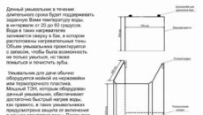 Умывальники для дачи: виды и пошаговая инструкция изготовления