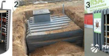 Кессоны для погреба: разновидности и технология монтажа
