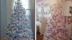 Белая искусственная елка: как выбрать и украсить?